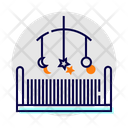 Cradle Crib Baby Icon