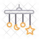 Cradle Hanging Star Icon