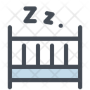 Cradle Baby Bed Icon