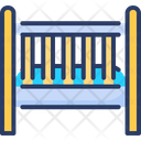 Cradle Calm Baby Bed Icon