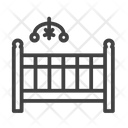 Cradle Crib Bed Icon