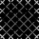 Cradle Crib Stars Icon