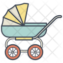 Cradle Stroller Vehicle Icon