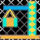 Crane Construction Harbor Icon