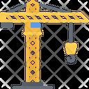 Crane Building Builder Icon