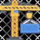 Crane Container Hook Icon
