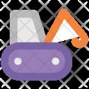 Crane Lifter Bulldozer Icon