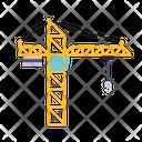 Crane Crane Hook Industry Equipment Icon