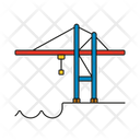 Harbour crane Icon
