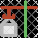 Crane Loading Shipping Icon