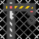 Crane Construction Lifting Icon