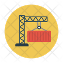 Container Crane Shipping Icon