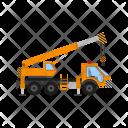 Crane Construction Heavy Icon