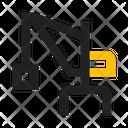 Crane Loading Shipment Icon