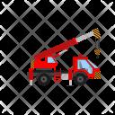 Crane Construction Vehicle Icon