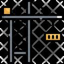 Crane Logistic Shipping Icon