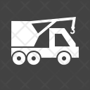 Crane Heavy Vehicle Icon