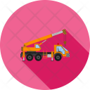Crane Heavy Vehicle Icon