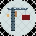 Crane Container Load Icon