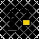 Crane Shipping Container Icon
