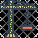 Crane Building Crane Building Icon