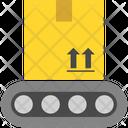 Logistics Delivery Crane Icon