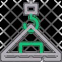 Crane Hook Labor Crane Icon