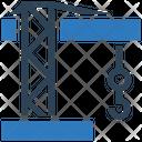 Business Financial Crane Icon