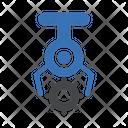 Crane Picking Gear Icon