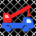 Crane Truck Lift Icon