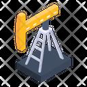Crane Industrial Machine Logistic Crane Icon