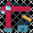 Crane Hook Building Icon