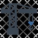 Construction Crane Heavy Icon