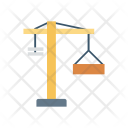 Crane Lifter Container Icon