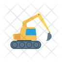 Crane Vehicle Cargo Icon