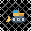 Crane Vehicle Construction Icon