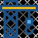 Crane Construction Hook Icon