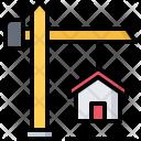 Crane Building Architecture Icon