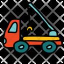 Crane Construction Truck Icon