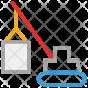 Crane Industrial Construction Icon