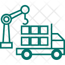 Crane Vehicle Lifter Icon