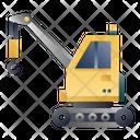 Crane Construction Vehicle Heavy Vehicle Icon