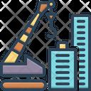 Crane Building Construction Tower Icon