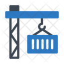 Container Logistics Delivery Icon