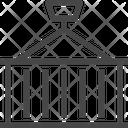 Crane Container Icon
