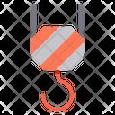 Crane Construction Crane Hook Crane Icon
