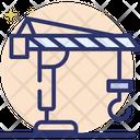 Crane Hook Port Crane Construction Crane Icon