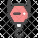 Crane Machine Construct Icon