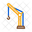 Crane Hook Machine Icon