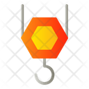Crane Hook Lifting Icon